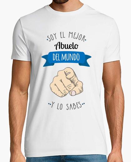 Camiseta Mejor Abuelo Del Mundo (y lo...