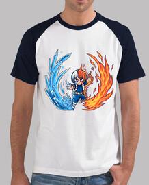 mejor chico caliente y frío - camisa de béisbol para hombre