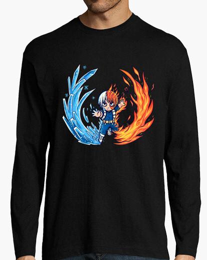 Larga Para De Caliente Y Frío Camisa Hombre Mejor Chico Camiseta Manga l1JTKcF
