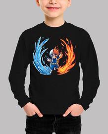 mejor chico caliente y frío - camisa de niños