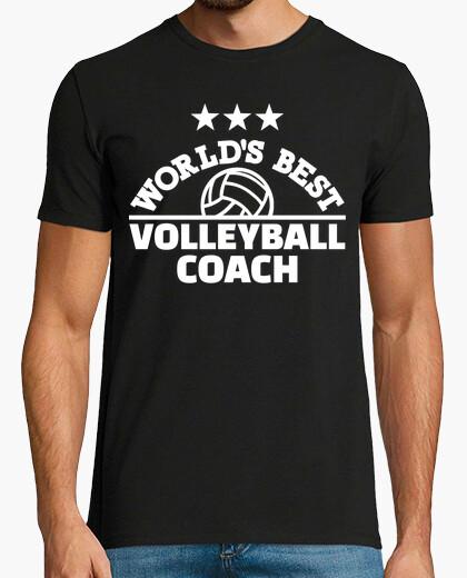 Camiseta mejor entrenador de voleibol del mundo
