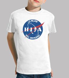 Mejor Hija NASA BLANCO