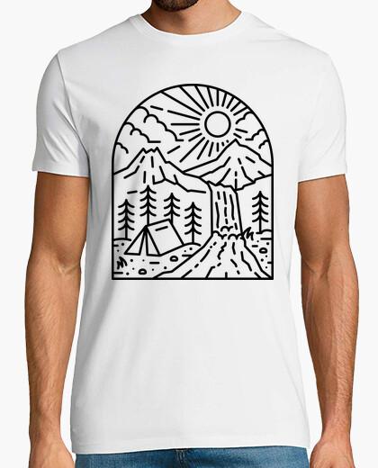 Camiseta mejor hogar para la luz