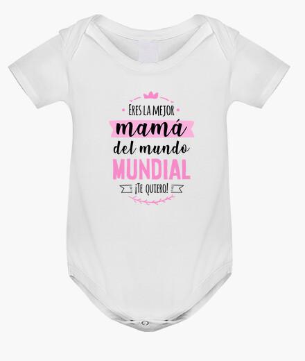 Ropa infantil Mejor mamá del mundo