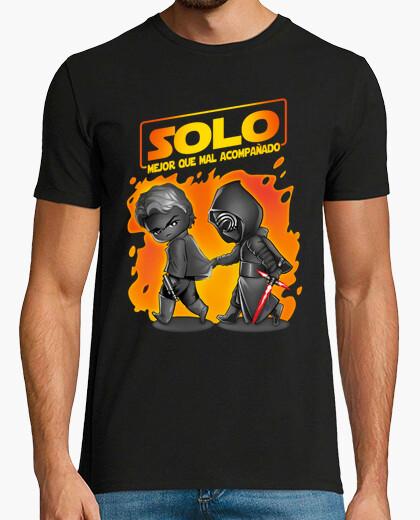 Camiseta Mejor Solo que mal acompañado