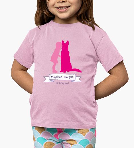 Ropa infantil Mejores amigos Niña camiseta