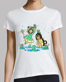 mejores chicas de rana - camisa de mujer