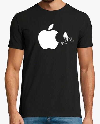 T-shirt mela in fuga