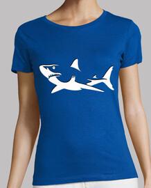 Mélange Contour De Requin