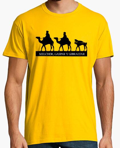 Camiseta Melchor, Gaspar y Gibraltar
