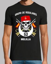 melilla 52 régulière  tee shirt  mod.8
