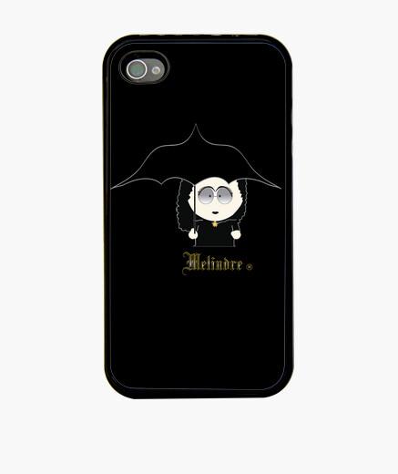 Coque iPhone melindre lunettes de soleil vampire