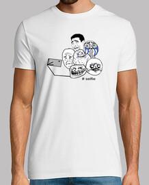 mèmes  tee shirt  selfie