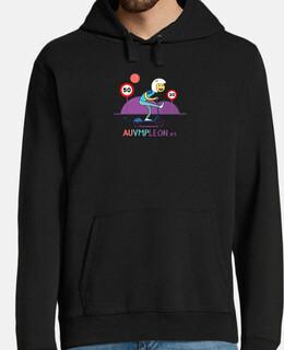 men's hoodie 051-smile-1