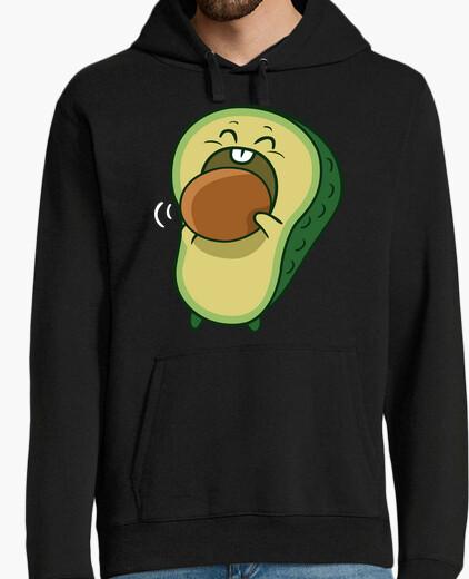 Men, hoodie, black hoody
