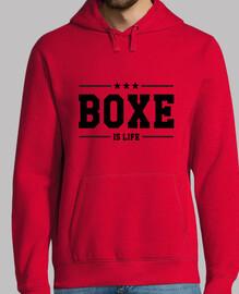 Men, hoodie, red