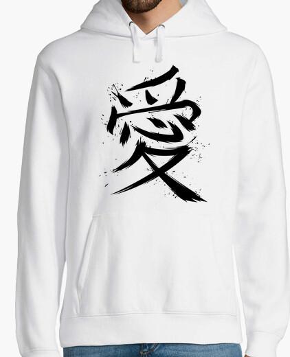 Men, hoodie, white hoody