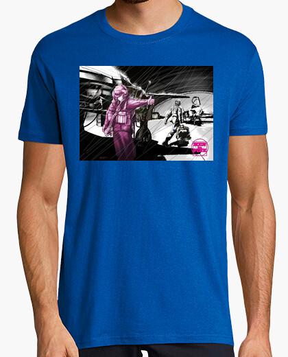 Camiseta MEN IN PINK PILOTO COMBATE