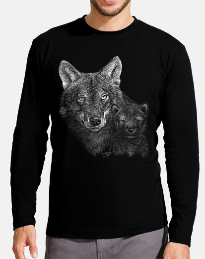 Men, long sleeve, black