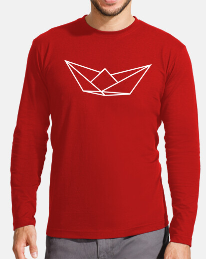Men, long sleeve, red