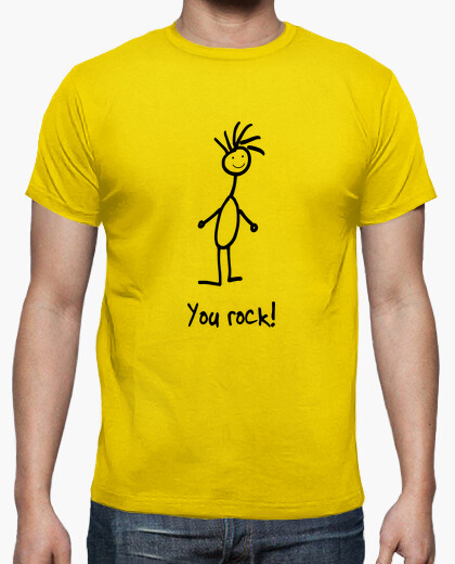 Men, short sleeve, lemon yellow, high quality t-shirt