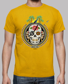 Men, short sleeve, mustard yellow, high quality