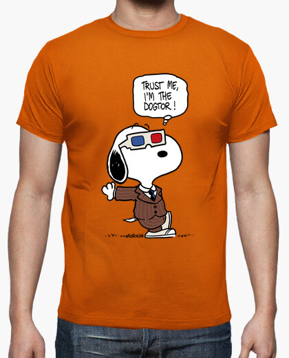 Trust Me, I'm the Dogtor Snoopy T-shirt