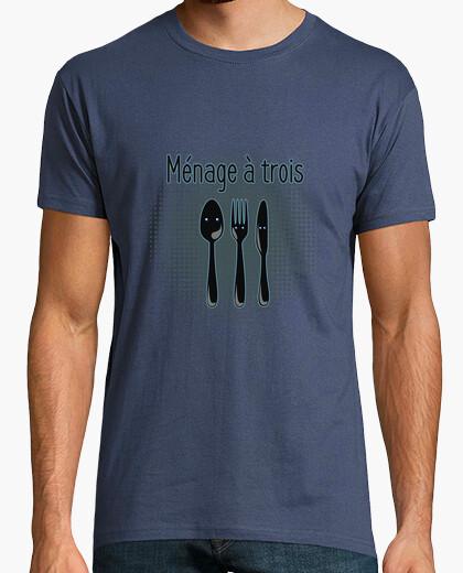 T-shirt ménage à trois