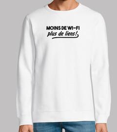 meno collegamenti wi-fi in più!
