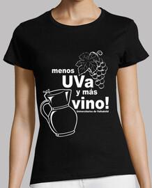 menos UVa y más vino! (negra chica)
