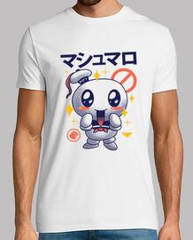 mens camicia di marshmallow kawaii