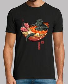 mens camicia di ramen lava piccante