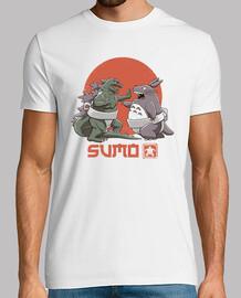 mens camicia di sumo pop