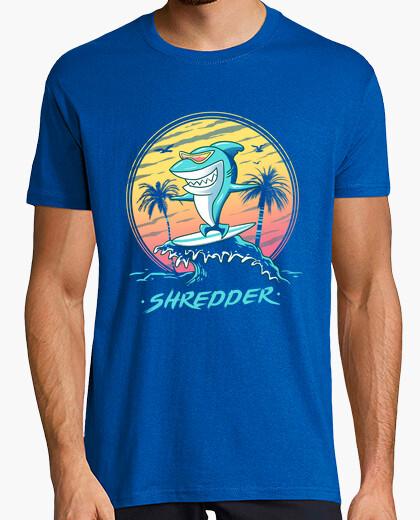 T-shirt mens camicia trituratore