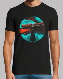 mens della camicia di dracarys