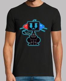 mens fondante chat de préchauffage t-shirt
