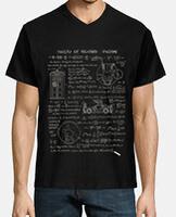Men's t-shirt,  short sleeve, V-neck