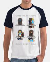 Men's t-shirt, short sleeve, baseball style