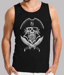 men's tank top - capt pirate