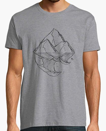 Tee-shirt mer et montagne