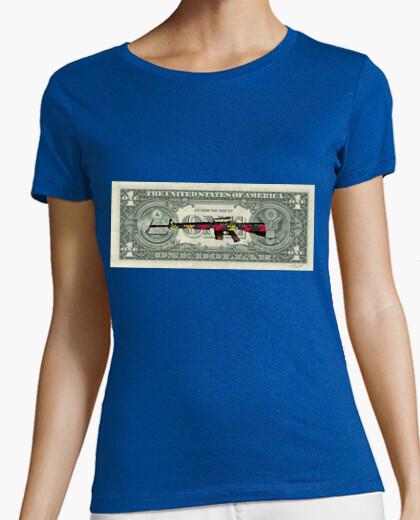 Camiseta Mercado de valores (chica)