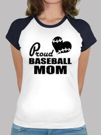mère de baseball fière