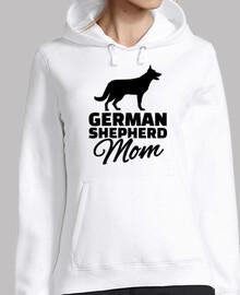 mère de berger allemand