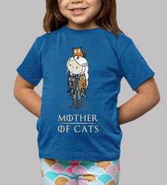mère de chats - mère de chats - mère de