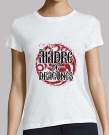 mère de dragons blanc