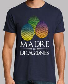 mère de dragons noir