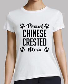 mère précieuse à crête chinoise