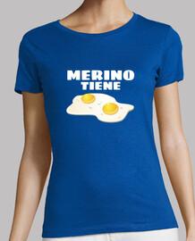 Merino tiene 2 huevos