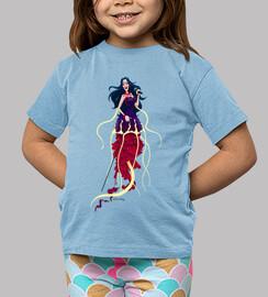 mermaid - les chemises d'enfant