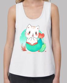 Mermaid cat - gato sirena